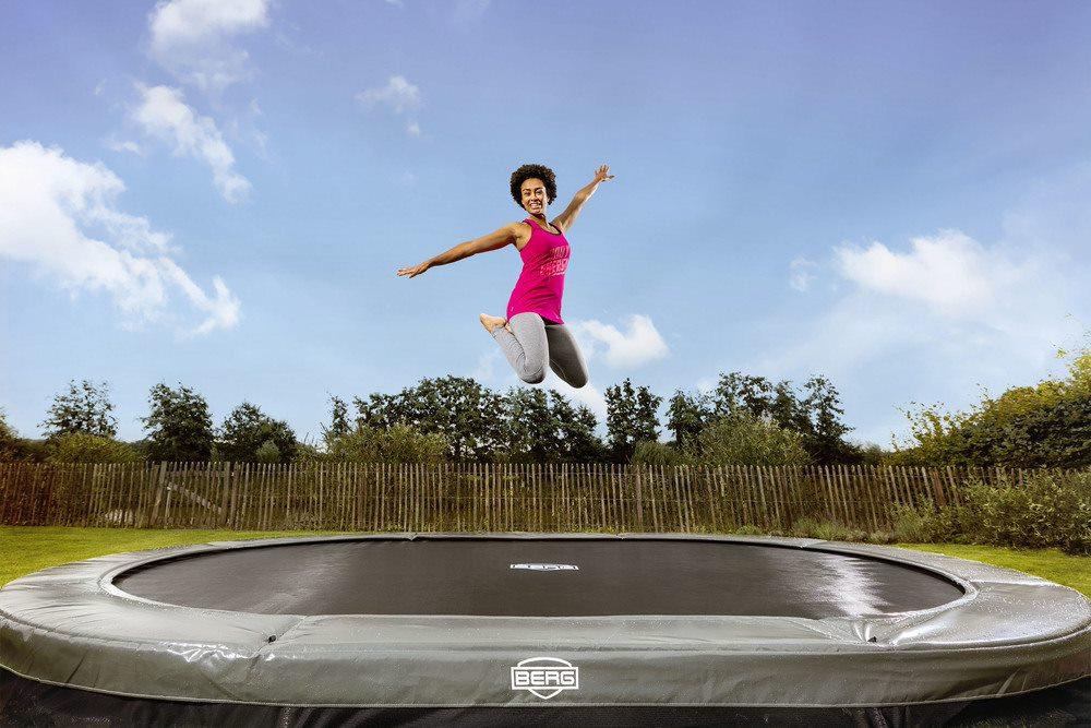 Berg trampolin - champion, elite eller favorit?