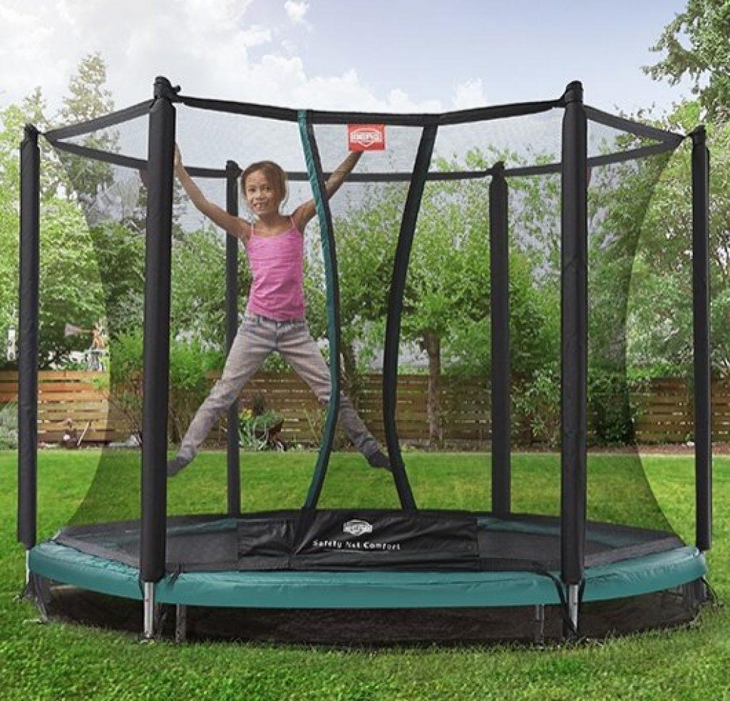 Billig berg trampolin