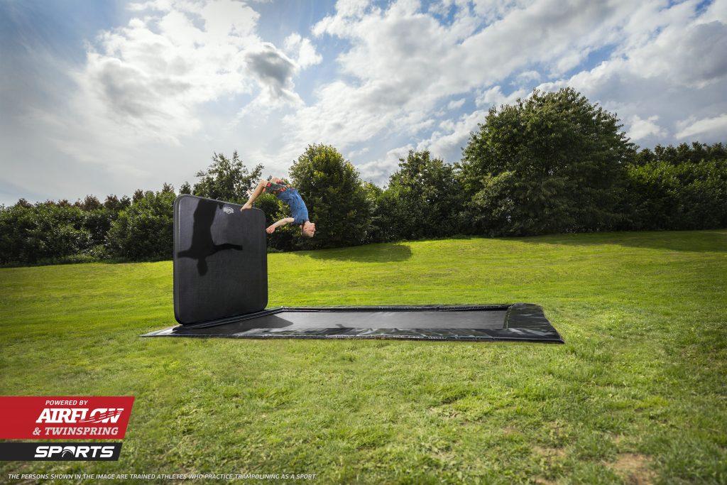 berg ultim elite flatground 500 trampolin til gymnastik