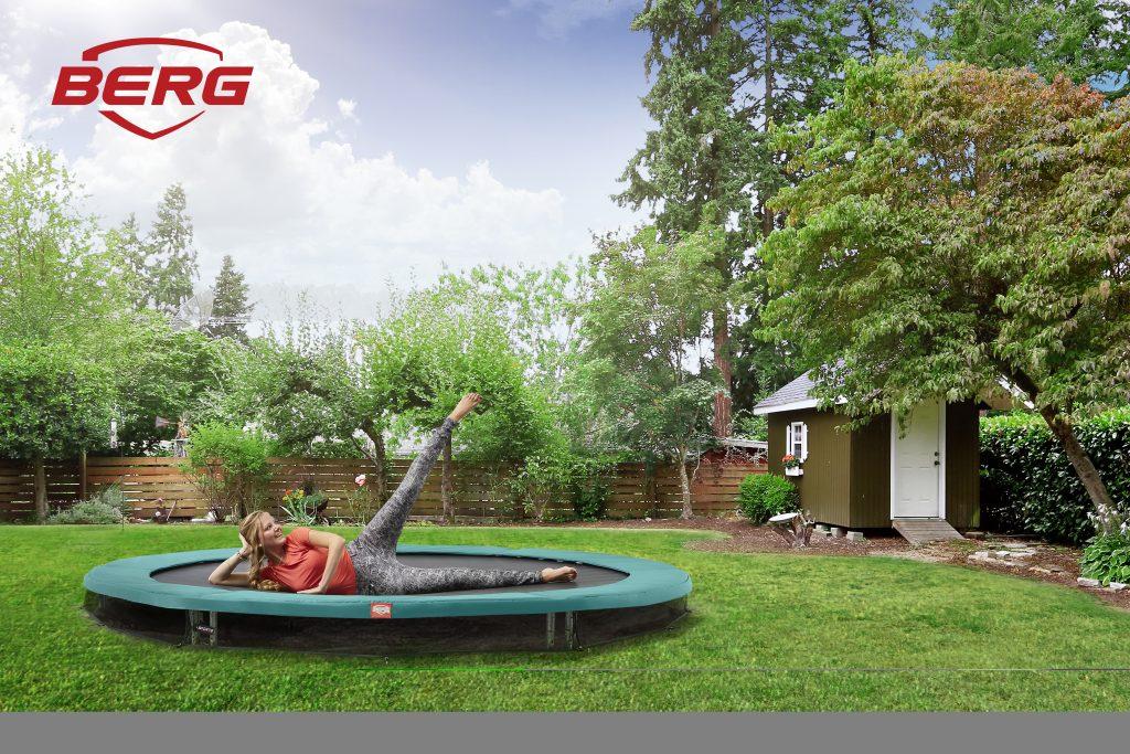 gymnastik trampolin fra berg - ideel til springgymnastik