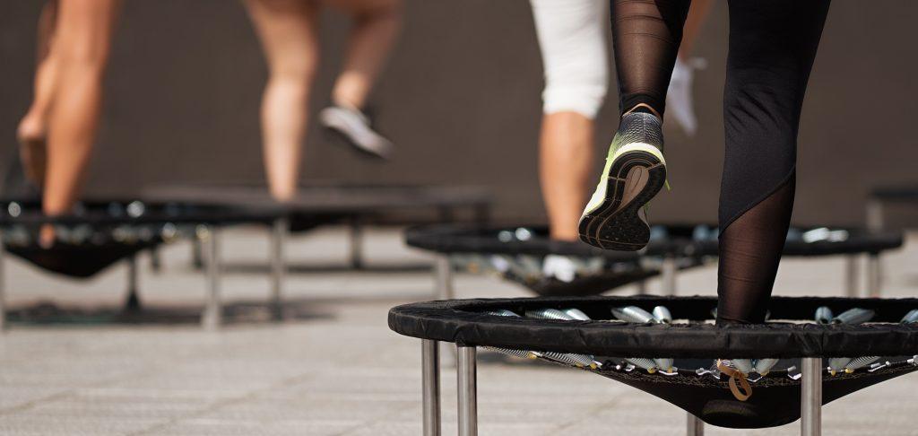 Fitness trampolin til gymnastik